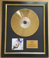 Prince / Ltd Edition CD Gold Disc / Record / Lovesexy
