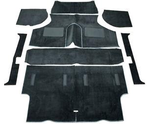 Full Black Carpet Set - High Quality (fit to Classic Mini)