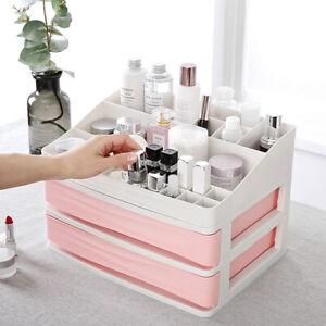 20 Grids Makeup Cosmetics Jewelry Organizer Display Box Storage 2-layers Drawers