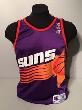 Phoenix Suns NBA Basketball Vintage Champion Blank Jersey Size 40 Medium 1990s