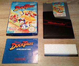 Nintendo NES // Duck Tales 1 + OVP + Anleitung // dt. PAL B CIB