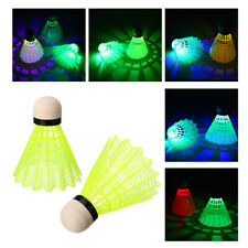 8PACK LED Shuttlecocks Badminton Balls Night Lighting Birdies Glowing Sport Ball