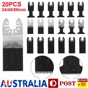 20x Multi Tool Oscillating Saw Blades For Fein Bosch Multimaster Makita Ryobi AU
