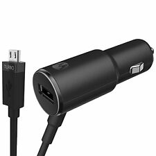 Motorola TurboPower 25 Dual Port Rapid Charge Car Charger - Retail Packaging