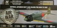 Vallejo Model Air Val71169 WWII Imp Japanese Navy Aircraft   8 colour paint set