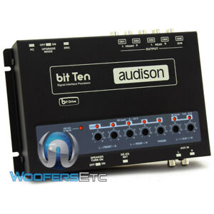 AUDISON BIT TEN CAR SIGNAL INTERFACE PROCESSOR WITH 4 CHANNELS IN & 5 OUT NEW