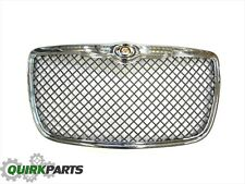 09-10 Chrysler 300 Black Chrome With Chrome Surround Grille Insert OEM NEW MOPAR