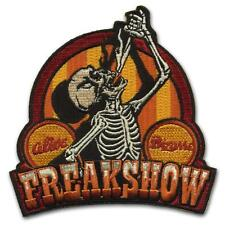 Freakshow Patch Iron On Skeleton Patch Circus Sideshow Horror Retro Rockabilly