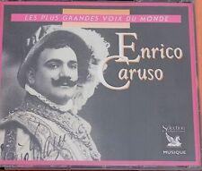 """CARUSO Coffret 3 CD""""Les plus grandes voix du monde"""" Sélection du Reader's digest"""