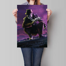 Watchmen Movie Poster 2009 Walter Kovacs Rorschach 16.6 x 23.4 in (A2)