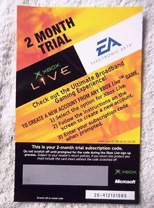 74373 Instruction Insert - Xbox Live - Microsoft Xbox (2004) X10-88937EN