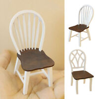 Dollhouse1:12 Mini Furniture Set Living Room Restaurant Chair Decor