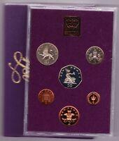 ROYAL MINT 1980 STANDARD PROOF SET OF 6 COINS