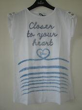 GEOX Respira  Italy T-Shirt Top feine Baumwolle Gr. 12 J 152 158 NEU!