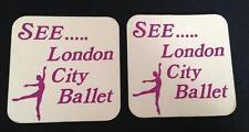 'See.. london city ballet' Beverage Coaster