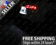 2pc Xenon White 36mm Error Free License Plate Tag LED Light Bulb 6411 6418 C6W