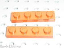 LEGO STAR WARS DkOrange plates 1x4 ref 3710 / Set 4767 8778 4507 & 7194 YODA