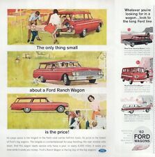 1962 FORD Ranch Station Wagon PRINT AD