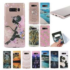 FUNDA CARCASA Suave TPU Para Samsung S8 Note8 paisaje Animales