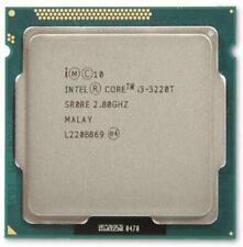 i3-3220T Intel Core i3 2.80GHz 3M Cache LGA 1155 Socket SR0RE CPU Processor