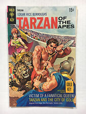 Tarzan #186  F Gold key comic 1969