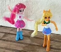 """Lot of 2 My Little Pony McDonald's Happy Meal Toys: Equestrian Girls Hasbro 5"""""""