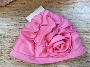 So 'dorable 2T-3T Flower Swim Cap in Pink