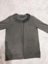 Sportscraft Brown Cardigan Size XS  Cotton And Silk