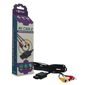 NEW AV Audio Video Cable for Nintendo 64 N64 System Console & Guarantee