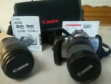 Spiegelreflexkamera Canon EOS Rebel K2 3000V Farbe Schwarz