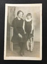 Vintage Postcard - RP Anonymous Group #130 - Lady And Child 1931