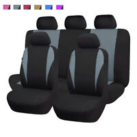 universal Car Seat Covers set washable Polyester gray grey Toyota SUV truck van