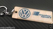 MAGNIFIQUE PORTE CLÉS UNIQUE BOIS Volkswagen Golf Polo Passat beetle Tiguan ETC