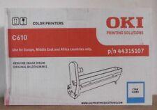 Original Oki  44315107 Trommel  cyan  für C610 Karton C