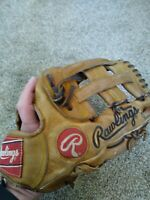 "Rawlings Heart Of The Hide PRO-1000HTL Baseball Glove RHT 12"""