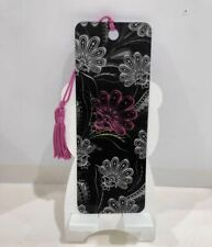 3D Book Marks with Colorful Matching Tassel Made in USA Paisley Pop