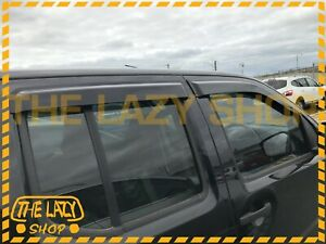 Weathershields Weather shields for Nissan Navara D40 05-15 model Sun Visors #J