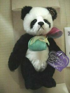 "VINT~LE Annette Funicello Collectible Teddy Bear ""Cookies & Cream"" Mohair BEAR"