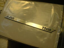 ATARI TT030 : LABEL Aluminum 95 x 6 mm