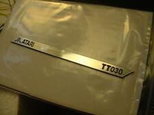 ATARI TT030 : LABEL Aluminum 95 x 6 mm