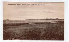 PORTMARNOCK STRAND near HOWTH: Co Dublin Ireland postcard (C25752)