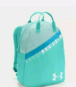 """Under Armour Girl YOUTH Favorite Backpack 3.0 GREEN Storm 15"""" LAPTOP Pocket New"""
