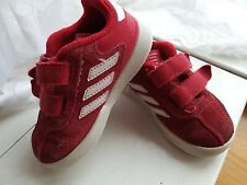 Adidas Kids shoes Infant Toddler Red Shoes trainers size 6 unisex
