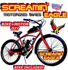 66cc/80cc 2-Stroke Motorized Bike Kit And 26� Bike High Performance Diy Motobike