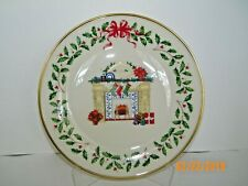 Lenox Annual Holiday Collector's Plate 1993 Third in Series Vtg Euc