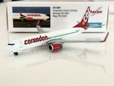 Herpa Wings 1:500 Corendon Dutch Airlines Boeing 737-800 AVIATIONMODELSHOP