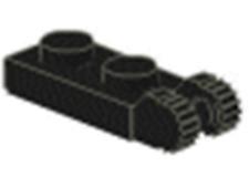 NEW x10 Lego Hinge Plate 1 x 2 Locking w/ 2 Fingers
