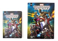 Marvel Guardians of the Galaxy Kids Boy's Hardcover 96 Sheet 2 Pc Notebook Set