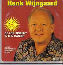 Henk Wijngaard-De Zon Schijnt In Mn Cabine cd single