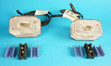 2 x Aspock FlexiPoint Front Marker Lamps Ifor Williams Brian James Trailer